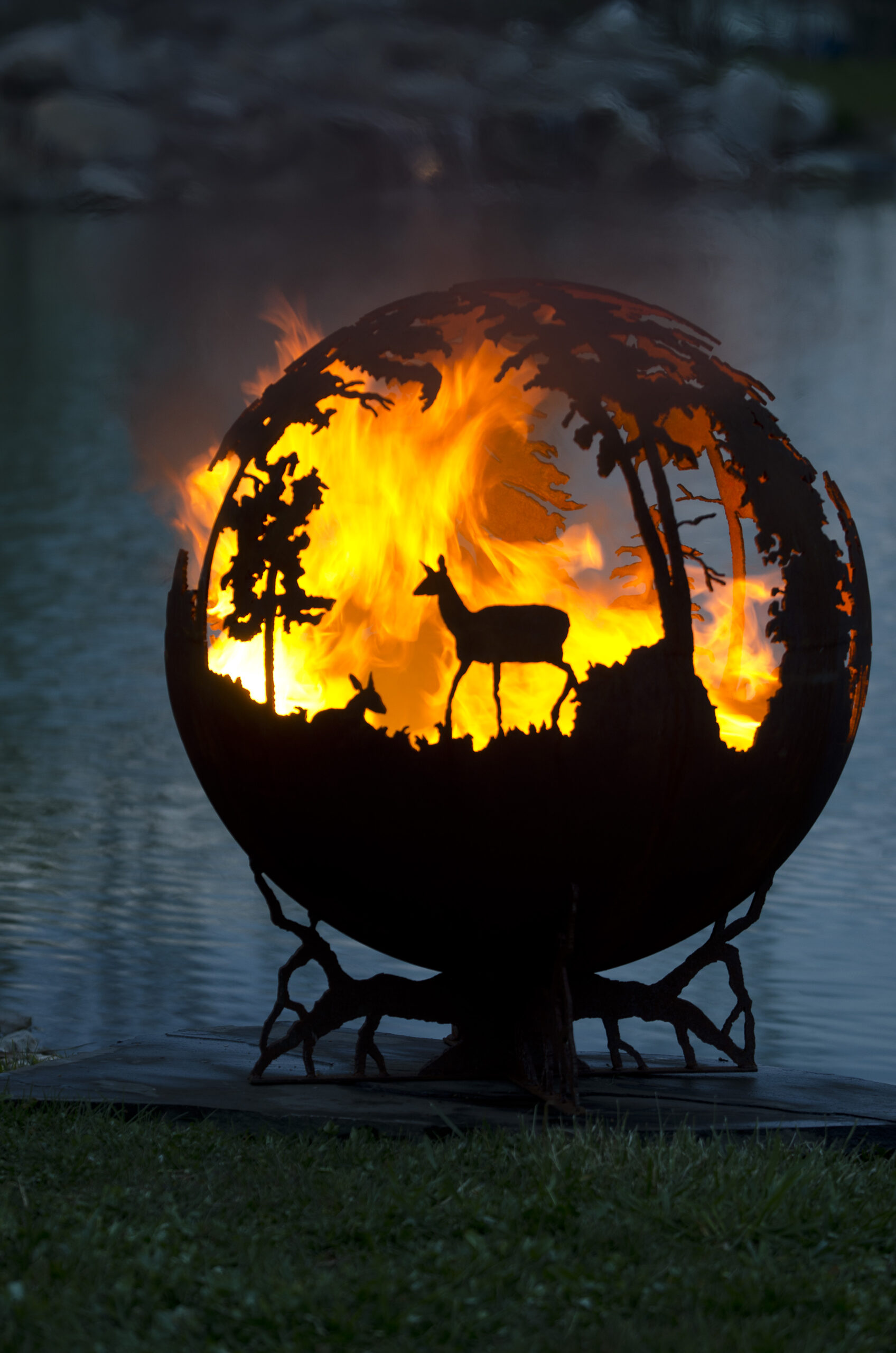The Fire Pit After Dark